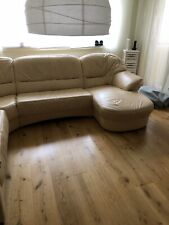Sofa Couch XXL Echtleder Garnitur , Ledersofa Wohnlandschaft Luxus Pur LONGLIFE
