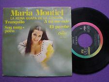 MARIA MONTIEL Tranquilo +3 MEXICO EP 1968 Sexy NECKLINE Cover RANCHERAS