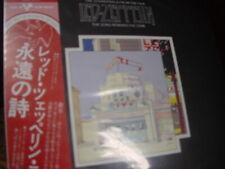 LED ZEPPELIN SONG REMAINS SAME JAPAN REPLICA GATEFOLD EXACT TO LP RELEASE OBI CD