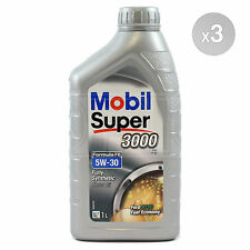 Mobil Super 3000 X1 FE 5W-30 Fully Synthetic Engine Motor Oil 3 x 1 Litre 3L