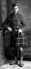 WW1 WWI BEF British soldier Seaforth Highlanders
