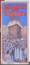 Late 1920's to Early 1930's Brochure for the Newhouse Hotel in Salt Lake City