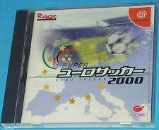 Super Euro Soccer 2000 - Sega Dreamcast DC - JAP