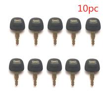 10key For Hitachi H800 JD Excavator Heavy Equipment Ignition Key Logo
