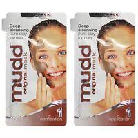 Mudd Original Mask Deep Cleansing Clay Formula 10ml 1 Application - 2 Pack