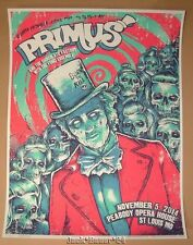 Primus Godmachine St Louis Poster Print Signed Numbered Art 2014
