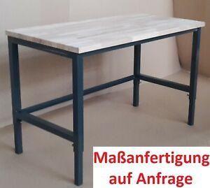 Werkbank Werktisch höhenverstellbar Arbeitstisch stabil Tisch Hobby Basteltisch