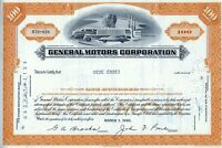 General Motors Corporation, 1960 (100 Shares)