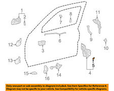 TOYOTA OEM 98-02 Corolla FRONT DOOR-Lock Assembly Snap 6975920050