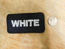 Vintage White Truck Patch