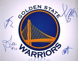 Golden State Warriors Team Signed 11x14 Glossy Photo Andrew Bogut David Lee + 2