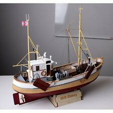 M/S CONNY 1/25 Scale  Norwegian Fishing Boat Wood Model Kit