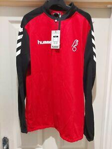 Hummel Bristol City Core 1/2 zip  Training Sweatshirt Size L BNWT