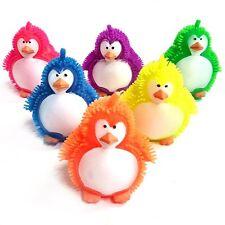 Flashing Puffer Penguin Squidgy Sensory Toy - Fidget Stress Sensory Autism