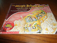 BOOK - THE MAGIC SCHOOL BUS INSIDE THE HUMAN BODY -1989 - BY JOANNA COLE -