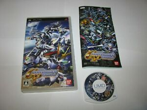 SD Gundam G Generation Portable Playstation Portable PSP Japan import US Seller