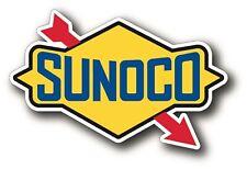 "Sunoco Vintage Logo Decal 5X3"" Repro Hot Rod Gasoline Petroliana Sticker YETIi"