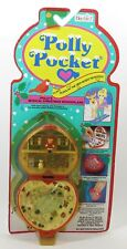 1989 Polly Pocket Polly's Musical Christmas Wonderland Holiday Compact NEW
