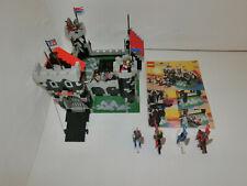 ( GO ) LEGO 6086 Black Knight's Castle RITTERBURG MIT BA 100% KOMPLETT GEBRAUCHT