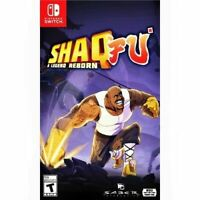 Shaq Fu: A Legend Reborn Nintendo Switch Bonus Fu You Content Brand New Sealed