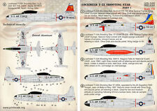 Print Scale 1/72 Lockheed T-33 Shooting Star Part 1 # 72263