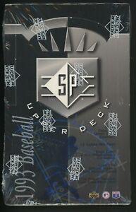 1993 SP Baseball Factory Sealed Unopened 24 Pack Box