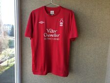 Nottingham Forest Home football shirt 2010/2011 Jersey L Soccer Umbro England