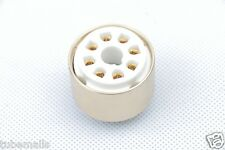 1piece*Gold plated 6SN7 6N8P TO 6CG7 6FQ7 tube adapter