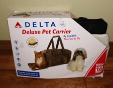 New listing Delta Deluxe Pet Carrier by Sherpa first time fly up to 16lb pets New Open Box M