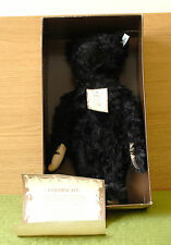 Steiff 1991 EAN 406829 British Collector's Replica black Teddy Bear 1912 LE/3000