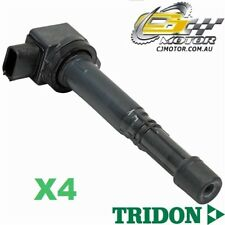 TRIDON IGNITION COIL x4 FOR Honda  Accord CM (40) 08/03-05/06, 4, 2.4L K24A4