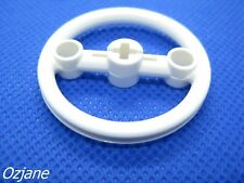 LEGO PART 3736 TECHNIC STEERING PULLEY LARGE WHITE