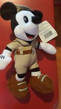 Disney 1999 Disneyana Mickey Mouse Bean Bag Beanie Nwt Disneyland