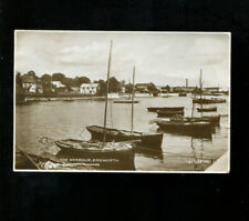 Emsworth Harbour RP Postcard 1936