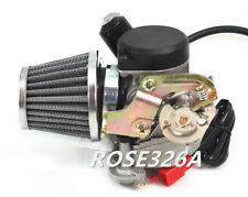Carburetor & Air Filter For 50cc Verucci Qingqi QM50QT-6V Moped Scooter
