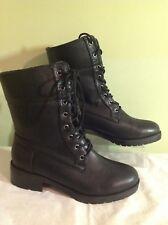 60ef5d89c89a29 New Bongo Women's Pina Black Combat Boots Us Sz ...