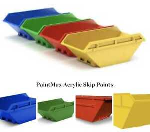Industrial Metal Skip & Shipping Container Paint-Quick 30 MIN Dry Primer&Finish