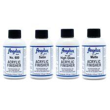 Angelus Brand Clear Acrylic Paint Finisher  - 4.oz each