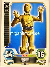 C-3PO  #036 - Force Attax Serie 3