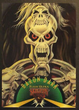 1995 Skeleton Warriors Suspended Animation Card #1 Baron Dark