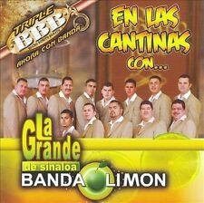 La Grande De Sinaloa Banda El Limon : En Las Cantinas CD