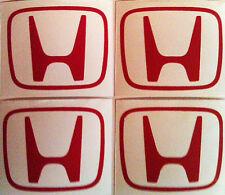 5 X Gorra calcomanías Decorativas Centro H Honda Civic Tipo R EP3 DC5 S/S2000 tipo Accord