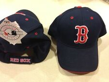 Boston Red Sox Hat. Blue with red B. Red Sox on Back Strap.One Size. Brand New.