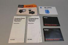 Lot of camera Lens Lenses FLASH Thyrister Guides Minolta Pentax Vivitar