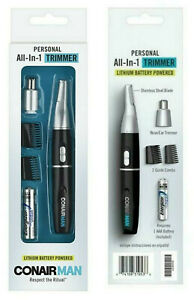 Conair Nose and Ear Hair Trimmer Men All-In-One Personal