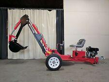 Hoc Te301 Trailerable Excavator Backhoe Trencher + 1 Year Warranty