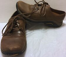 Merrell Jungle Oxford Mocha Shoes Size 8 Lace Up Brown Hiking Trail Walking