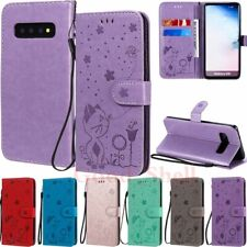 For Samsung S20 FE/S10 Lite/S9/S8/Note 10 20 Wallet Card Slot Leather Case Cover