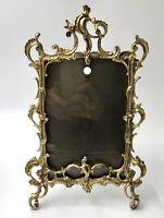 Cadre photo en bronze style LOUIS XV 1900 frame 27X16cm