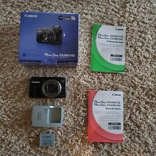 Canon PowerShot SX260 HS 12.1 MP (Black) Digital Camera with 20x Zoom